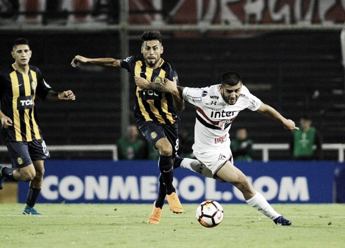 São Paulo joga bem, segura Rosario Central e empata sem gols na Argentina