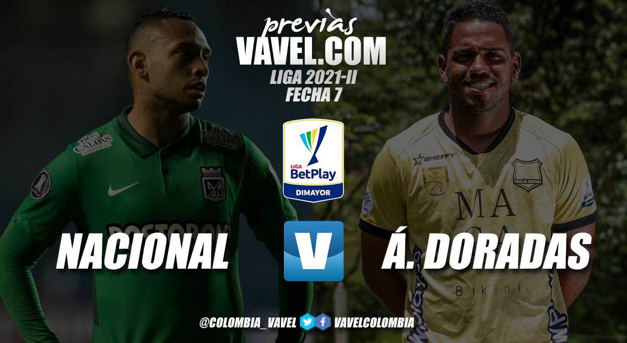 Previa Atlético Nacional vs. Rionegro Águilas: el 'verde' busca mantenerse en el liderato
