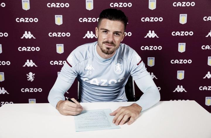 Fim do mistério! Jack Grealish renova com o Aston Villa até 2025