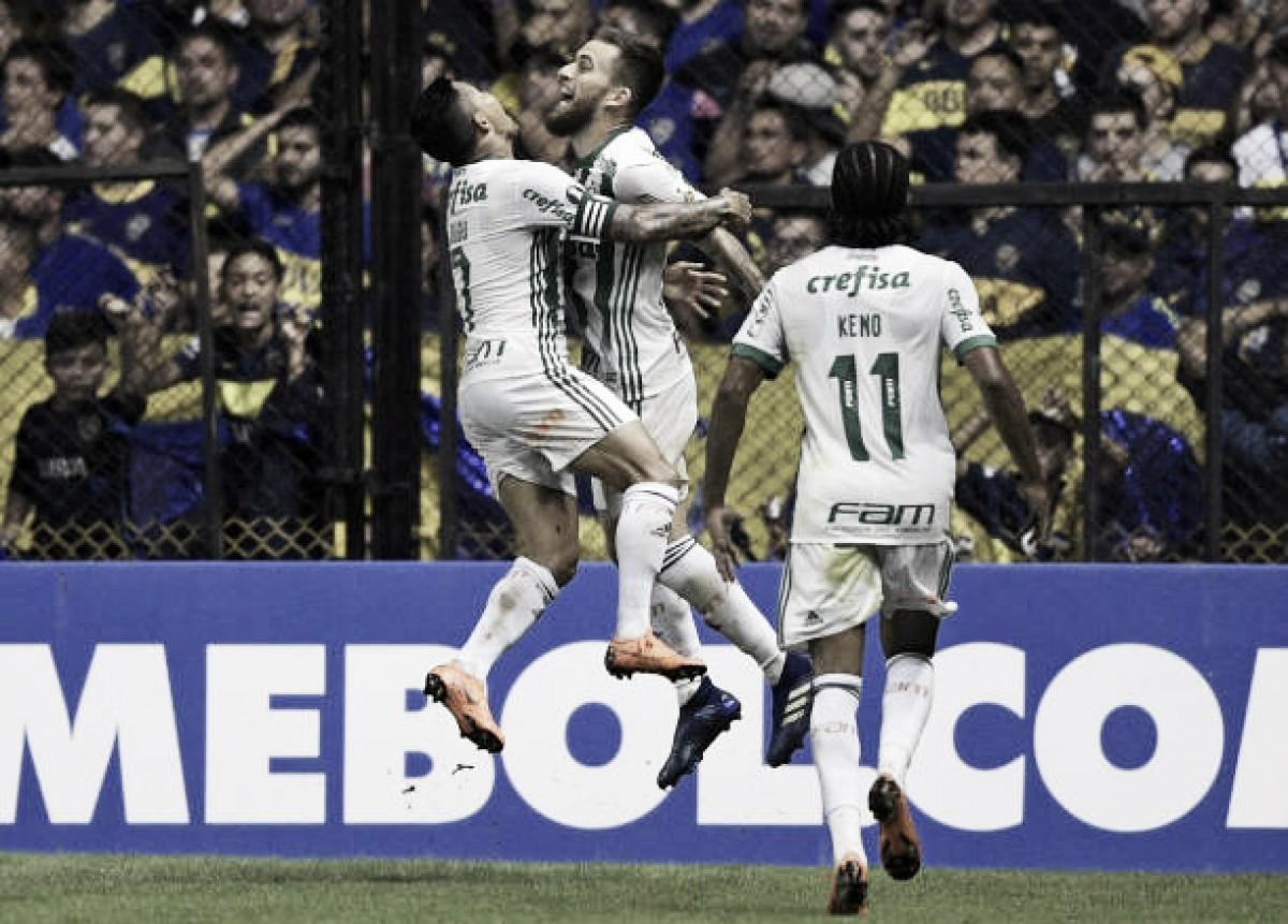 Palmeiras desbanca Boca Juniors na Bombonera e garante vaga antecipada às oitavas de final