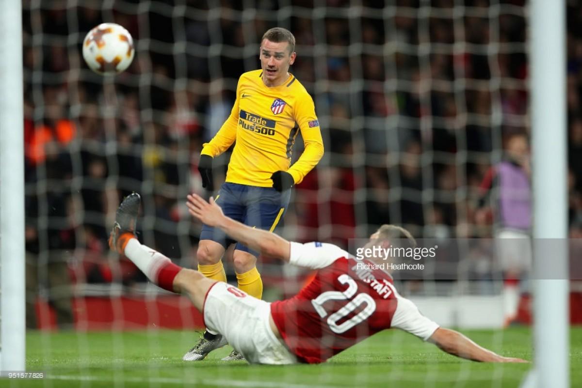 Arsenal 1-1 Atlético Madrid: Late Antoine Griezmann equaliser denies Gunners perfect result