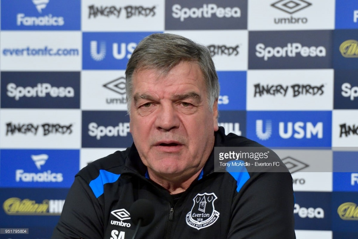 Planning has begun for next season, says Everton boss Sam Allardyce