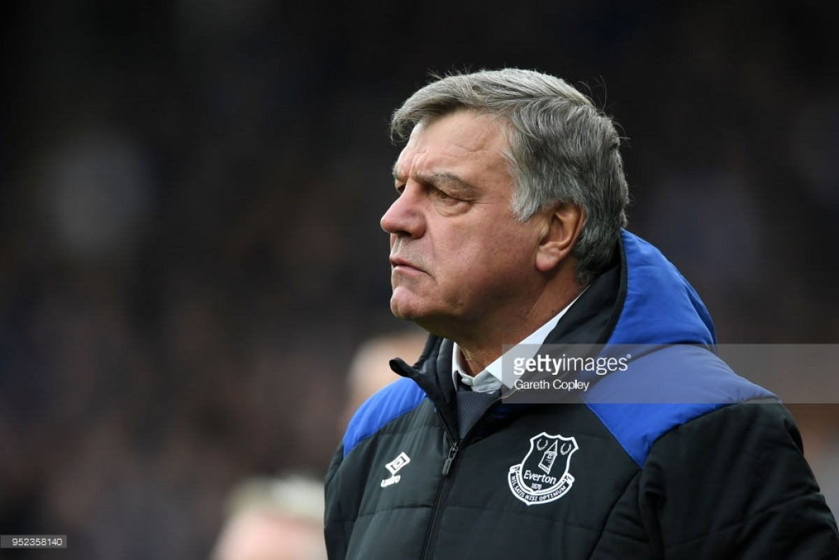 Everton set 'to part ways' with Sam Allardyce and target Marco Silva as his replacement