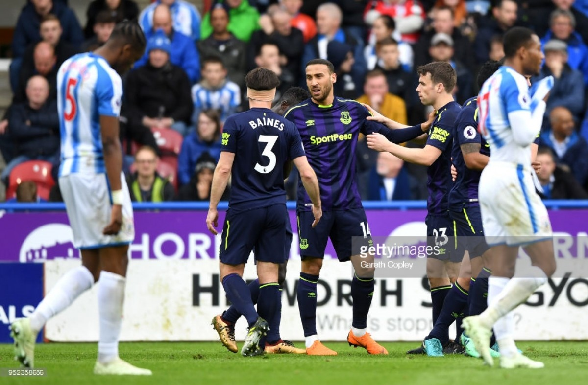 Huddersfield Town 0-2 Everton: Blues pick up three points as Terriers slip in battle against relegation