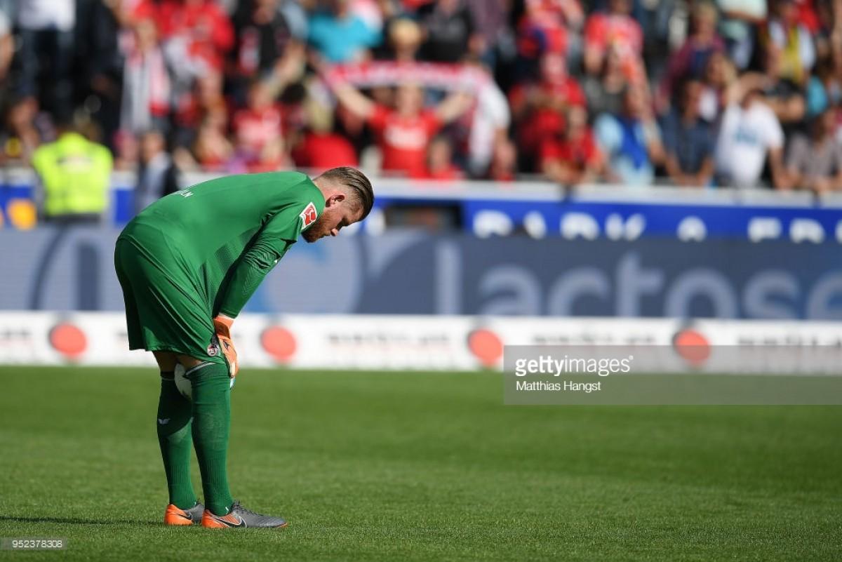 Bundesliga Round-Up:Kölnrelegated as Hamburg give themselves hope of survival