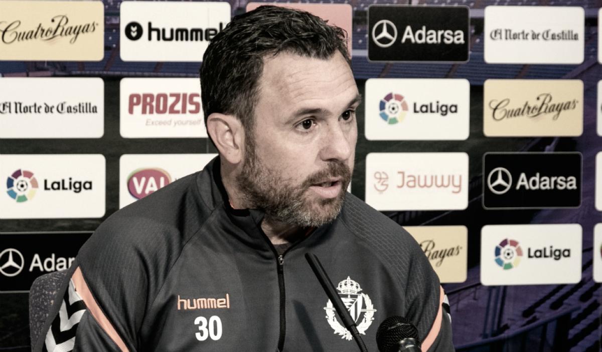 """Sergio González: """" El equipo tiene la confianza y la tranquilidad de poder ganar en cualquier campo"""""""