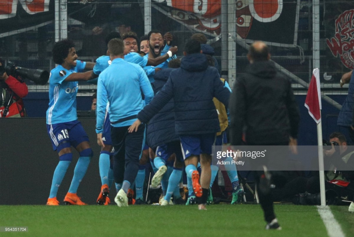Red Bull Salzburg (2) 2-1 (3) (AET) Marseille: Late extra-time goal from Rolando seals Marseille a place in the final