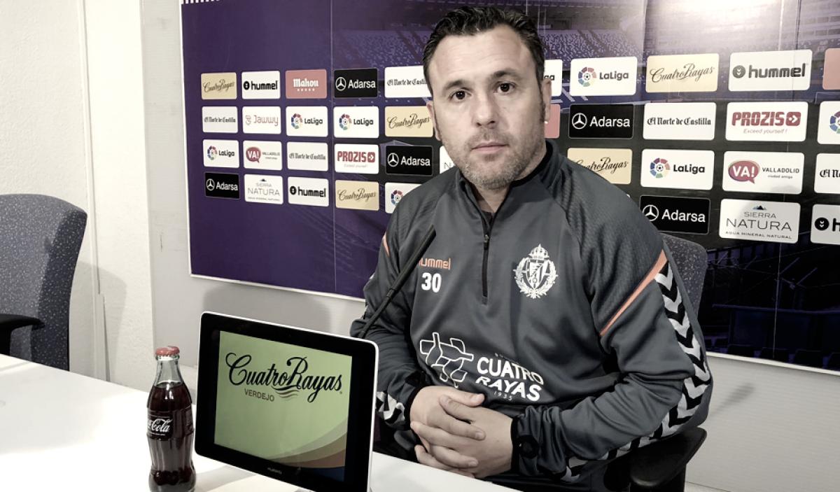 """Sergio González: """"Es un reto con mayúsculas"""""""