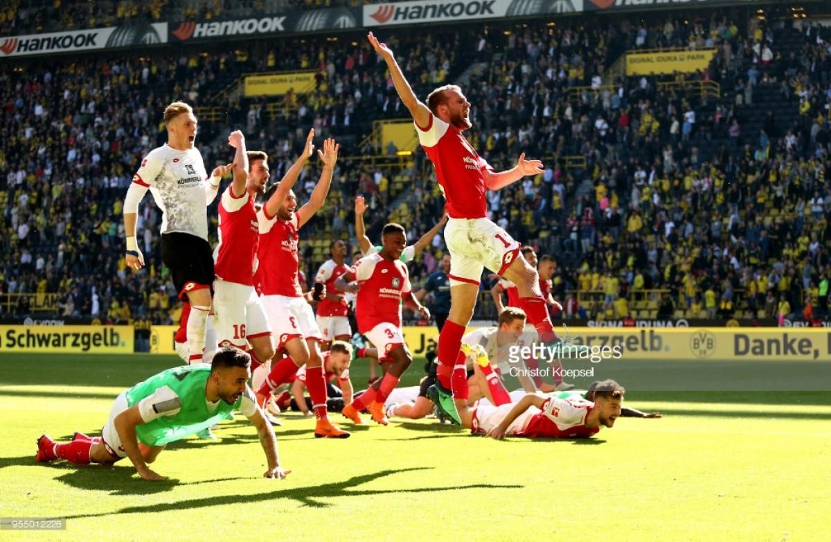 Bundesliga Round-Up: Mainz secure survival but relegation battle goes to the final day