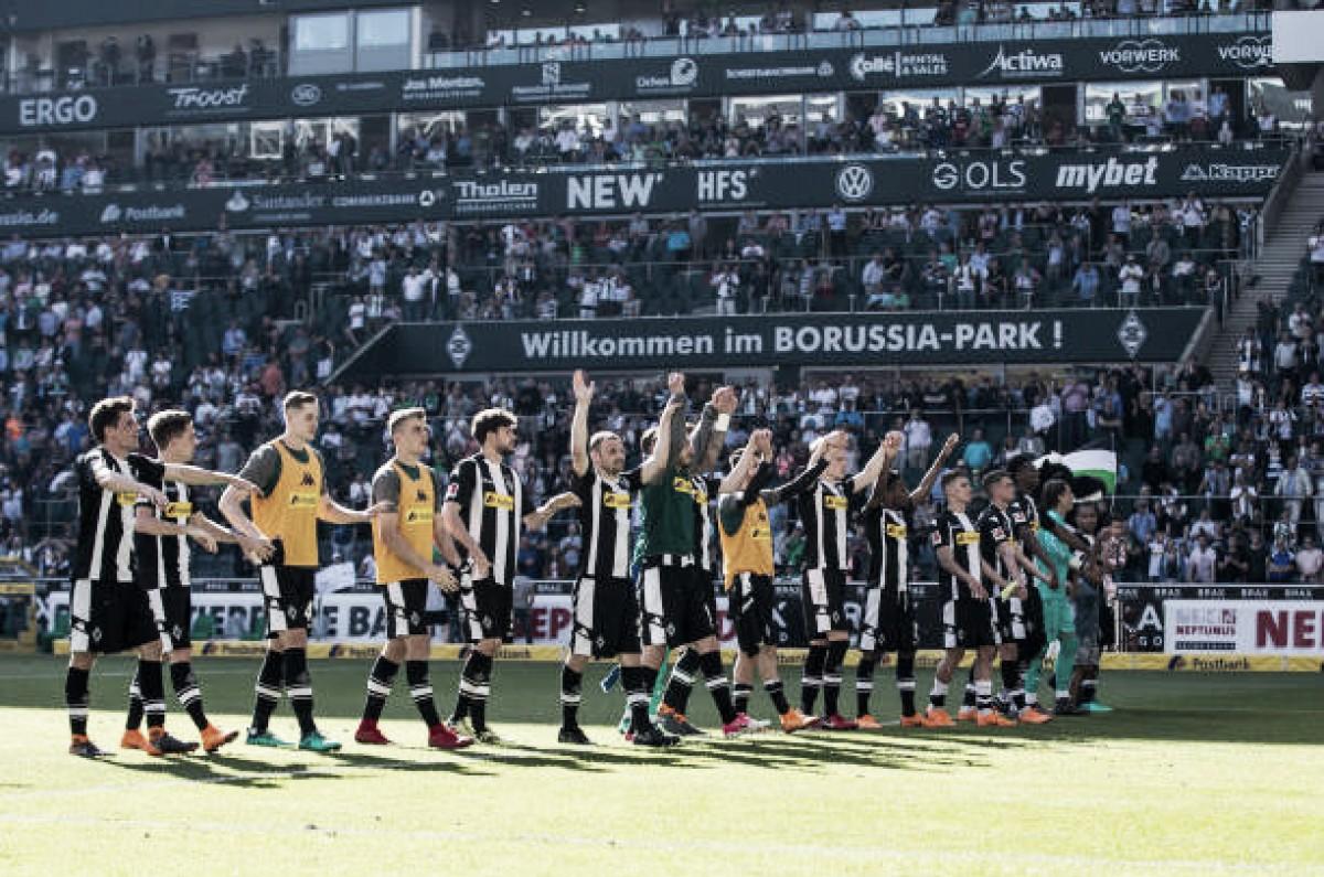 Borussia Mönchengladbach vence Freiburg e mantém possibilidades de disputar Uefa Europa League