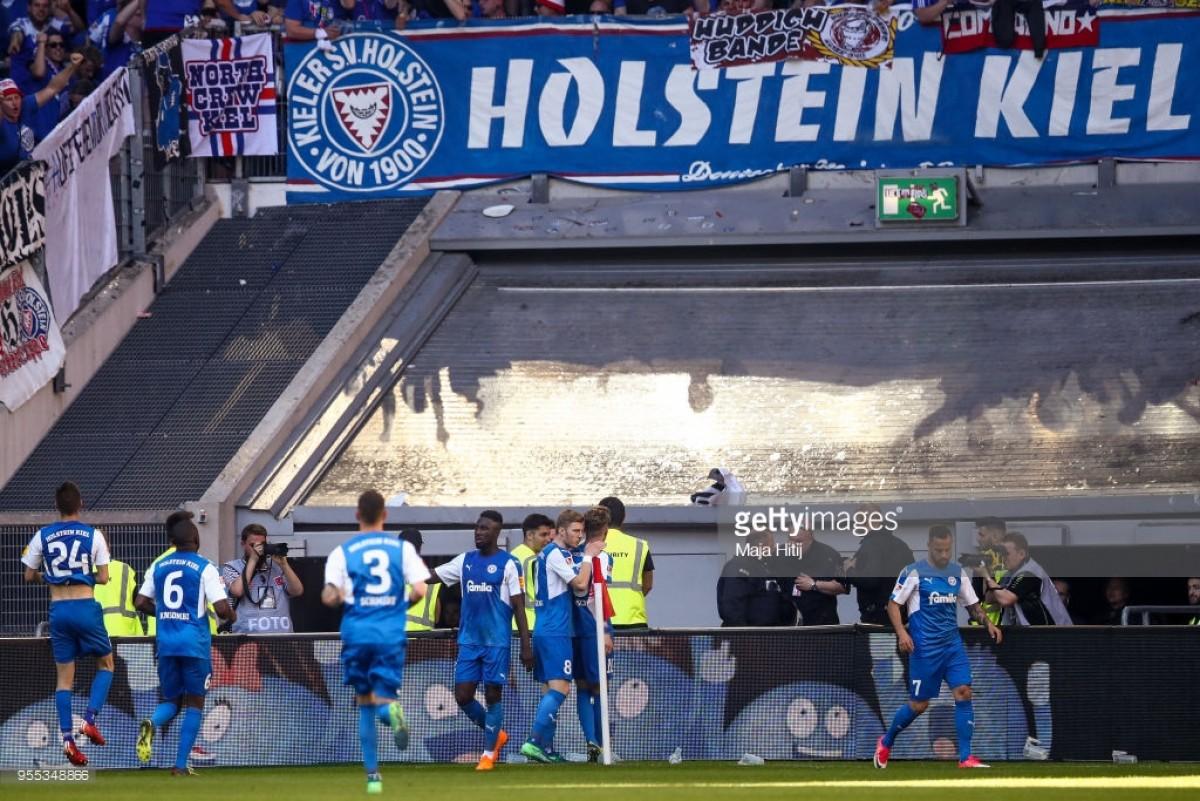 2. Bundesliga Round-Up: Kiel into play-off but six teams remain at risk of relegation