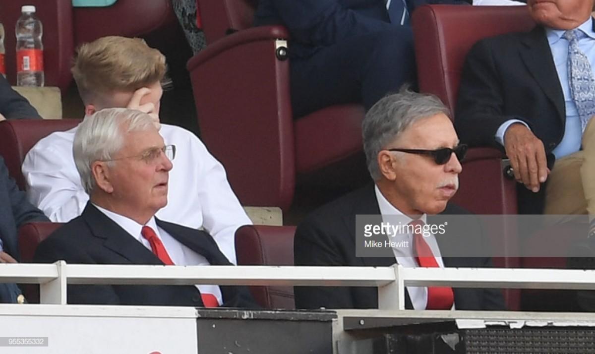 Stan Kroenke set to buy Alisher Usmanov out of Arsenal
