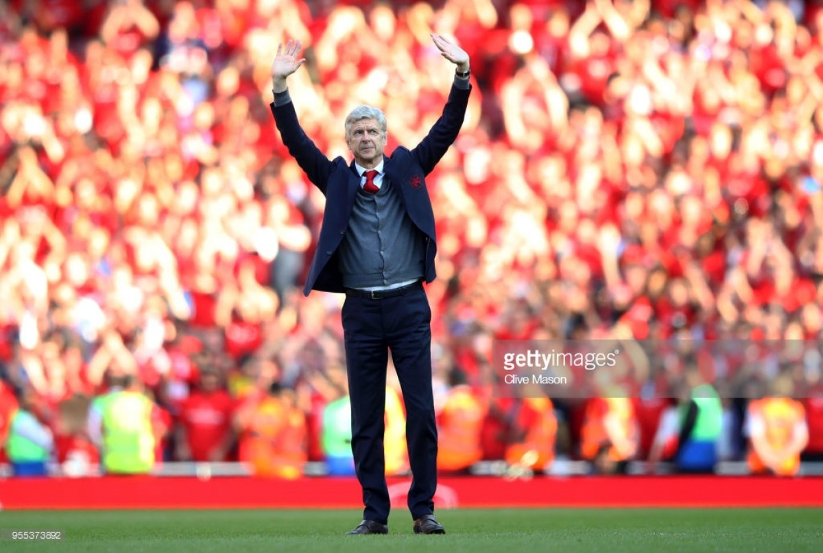 Arsène Wenger praises team following final home game with Arsenal