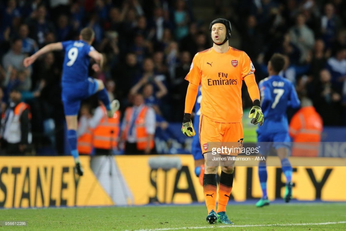 Leicester City 3-1 Arsenal: First half horror show contributes to another away day defeat for the Gunners