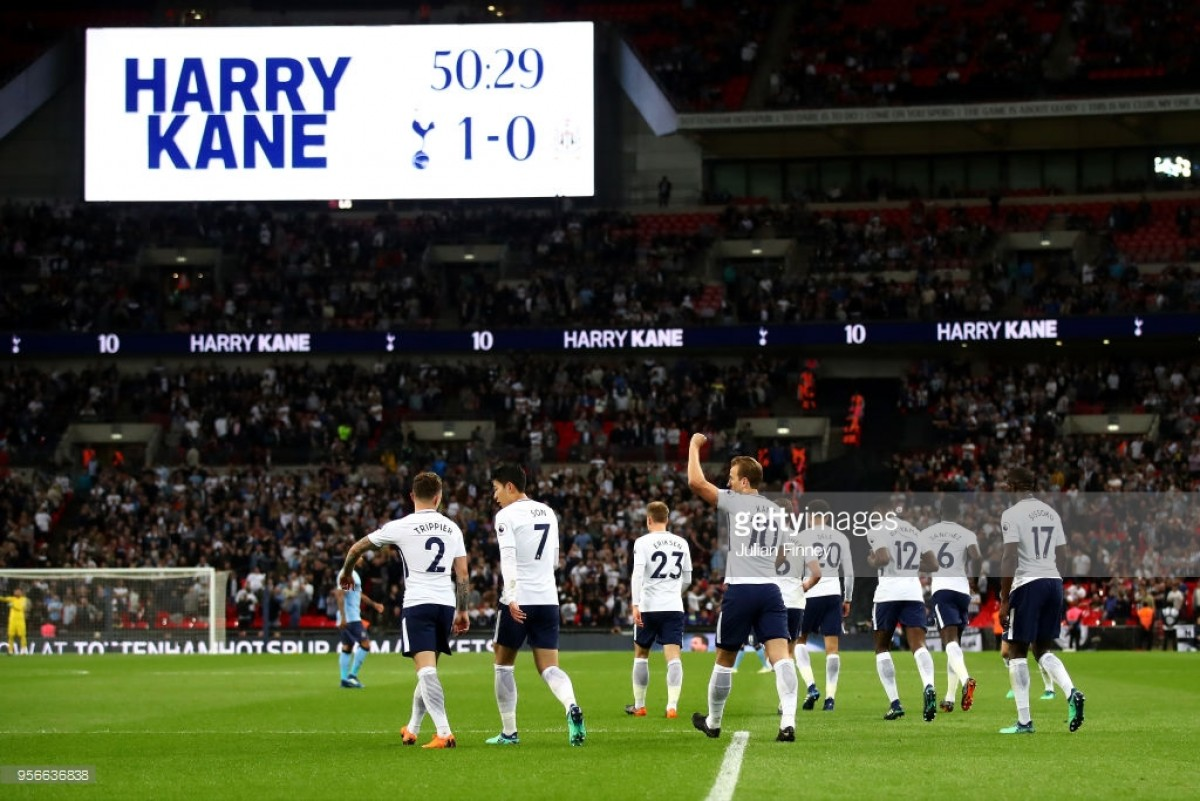 Karren Brady praises Tottenham Hotspur and Harry Kane