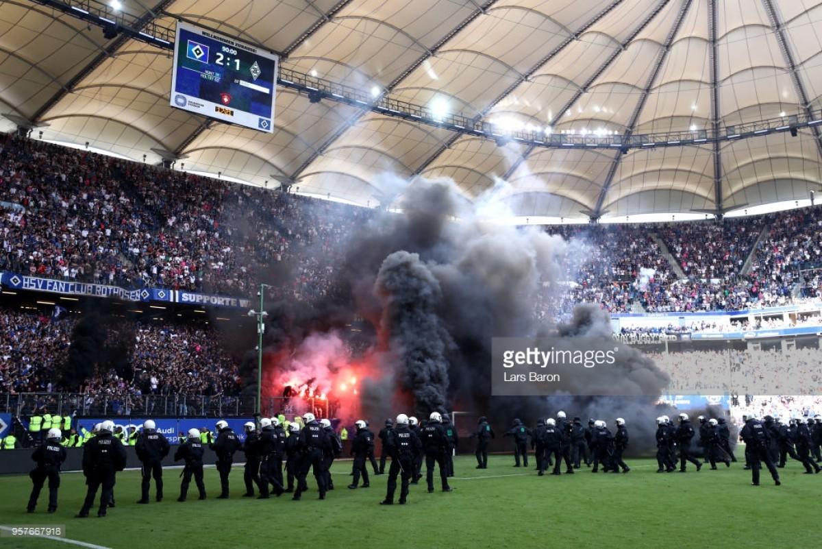 Hamburger SV 2-1 Borussia Mönchengladbach: HSV go down inignominydespite victory