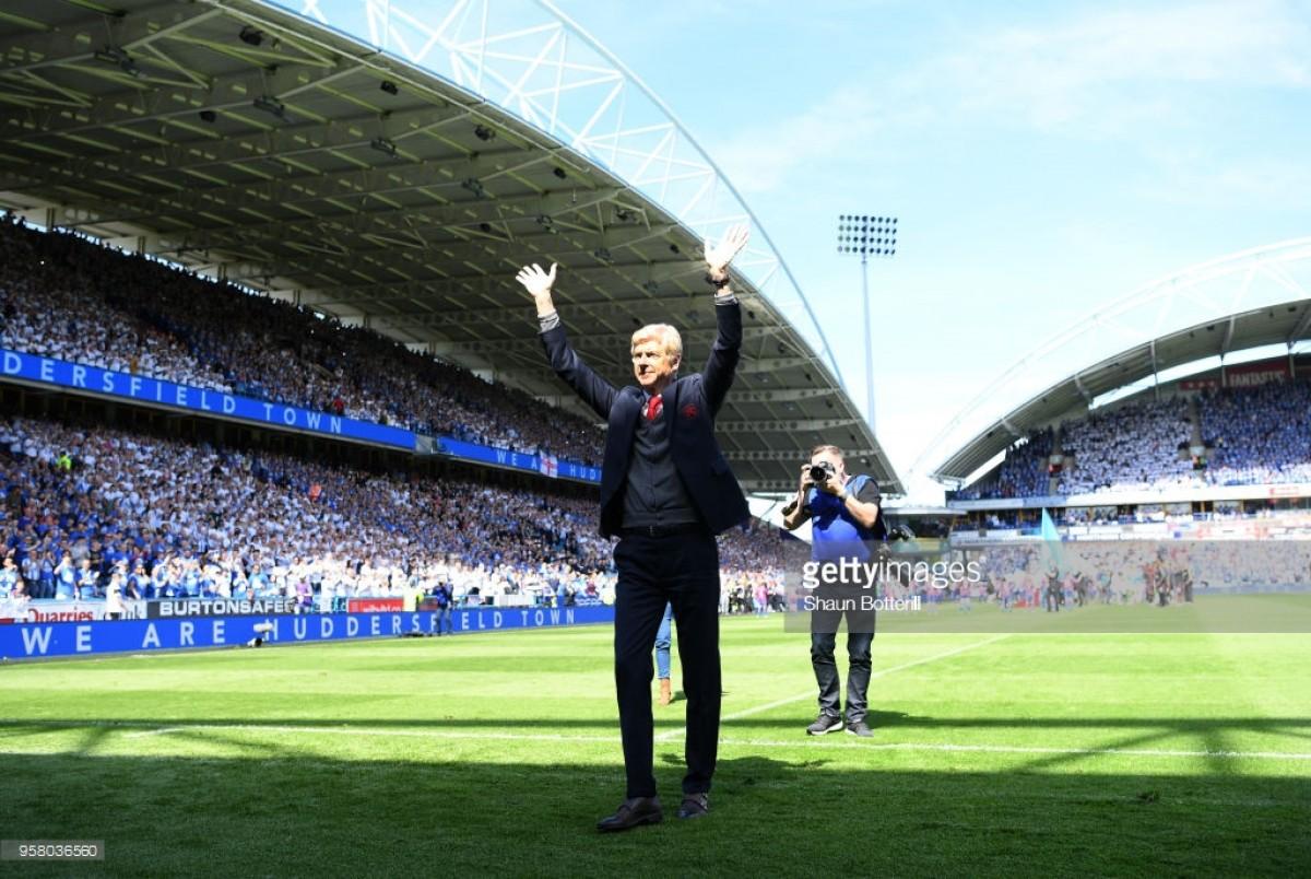 Huddersfield Town 0-1 Arsenal: Poacher Aubameyang gives Arsene Wenger winning send-off
