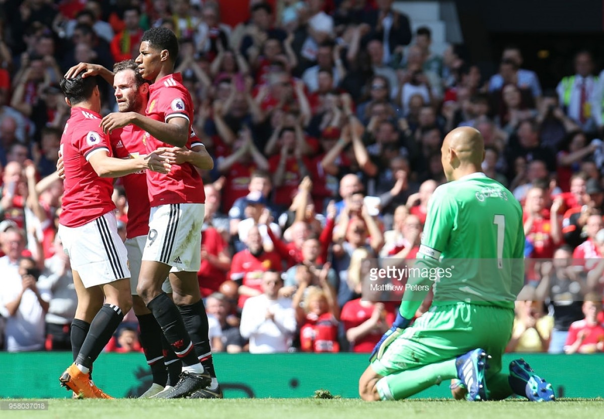 Manchester United 1-0 Watford: Rashford tap-in secures United all three points as Carrick bids farewell