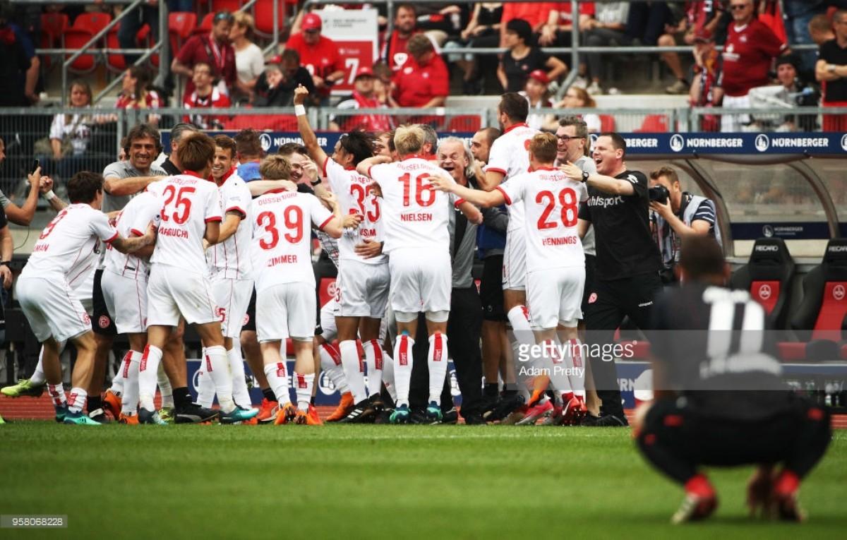 2. Bundesliga Final Day Round-Up: Drama asDüsseldorf crowned champions and Braunschweig crash out