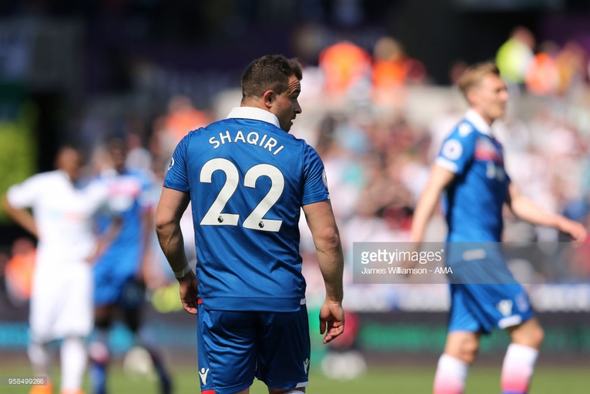 West Ham interested in Xherdan Shaqiri after forward makes clear of his intent to depart Stoke