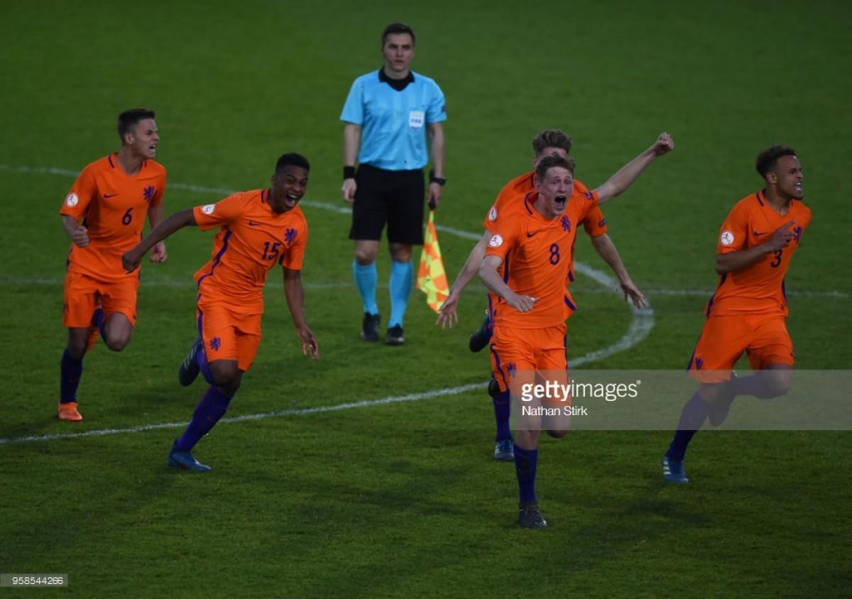 Netherlands U17 1-1 Rep. of Ireland U17: Dutch win controversial shootout to book semi-final tie against England