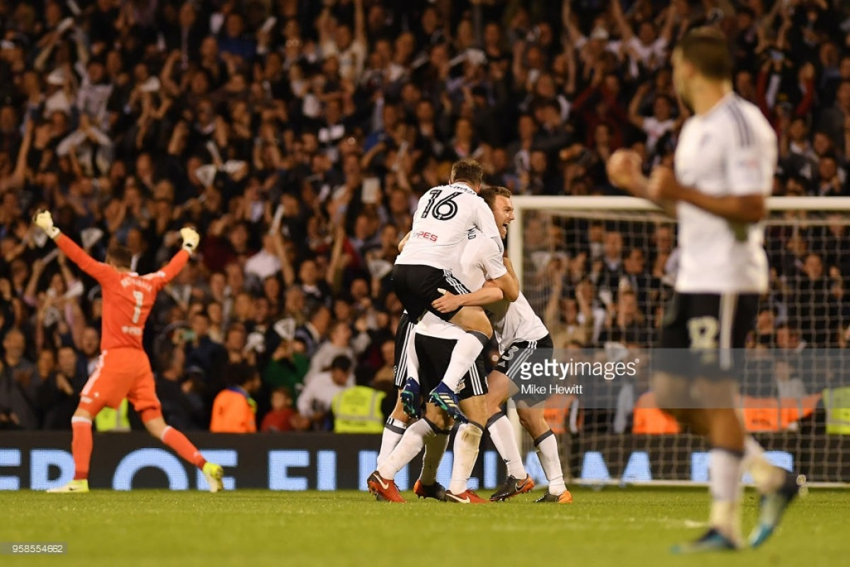Fulham (2) 2-0 (1) Derby County: Sessegnon and Odoi goals send Cottagers to Wembley
