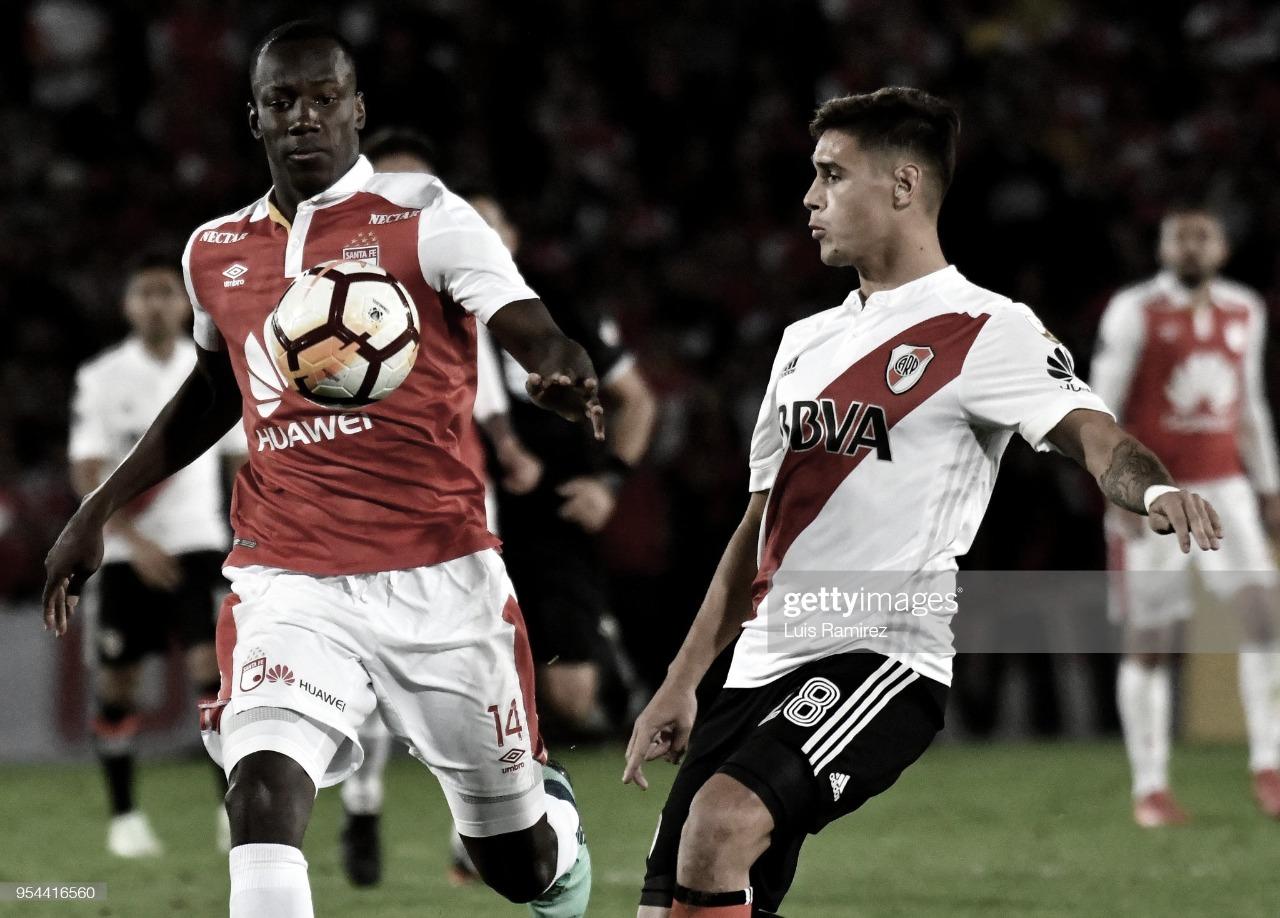 River visitará a Independiente de Santa Fe en Paraguay