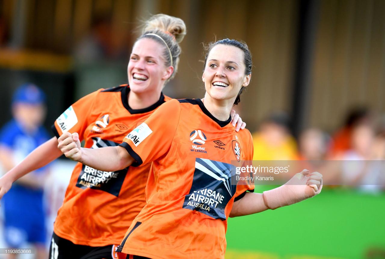 Australian international Hayley Raso due to join Everton Women from Brisbane Roar