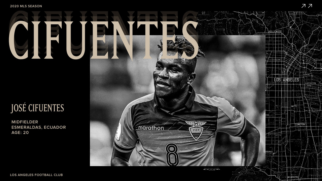 José Cifuentes firma por Los Angeles FC