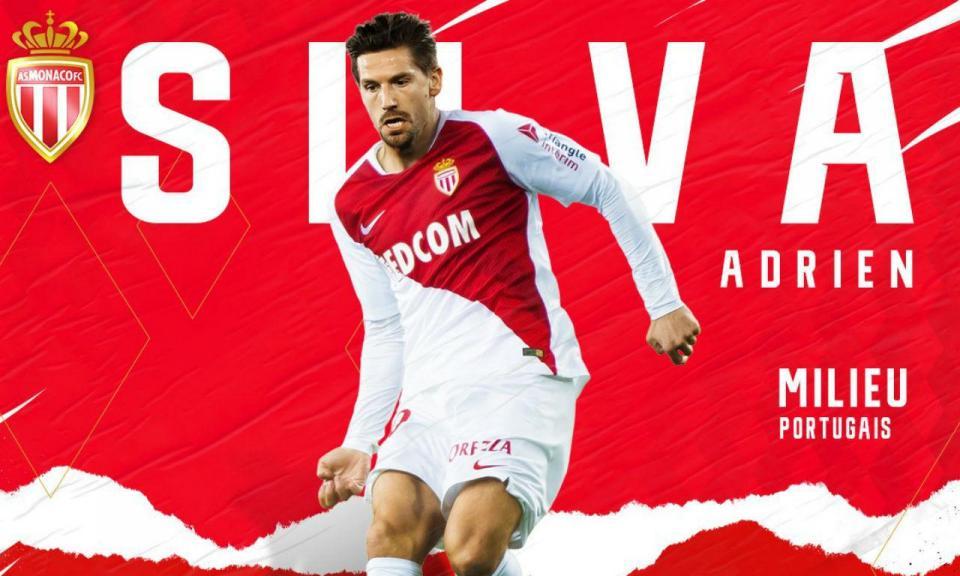 Adrien Silva volta ao Mónaco