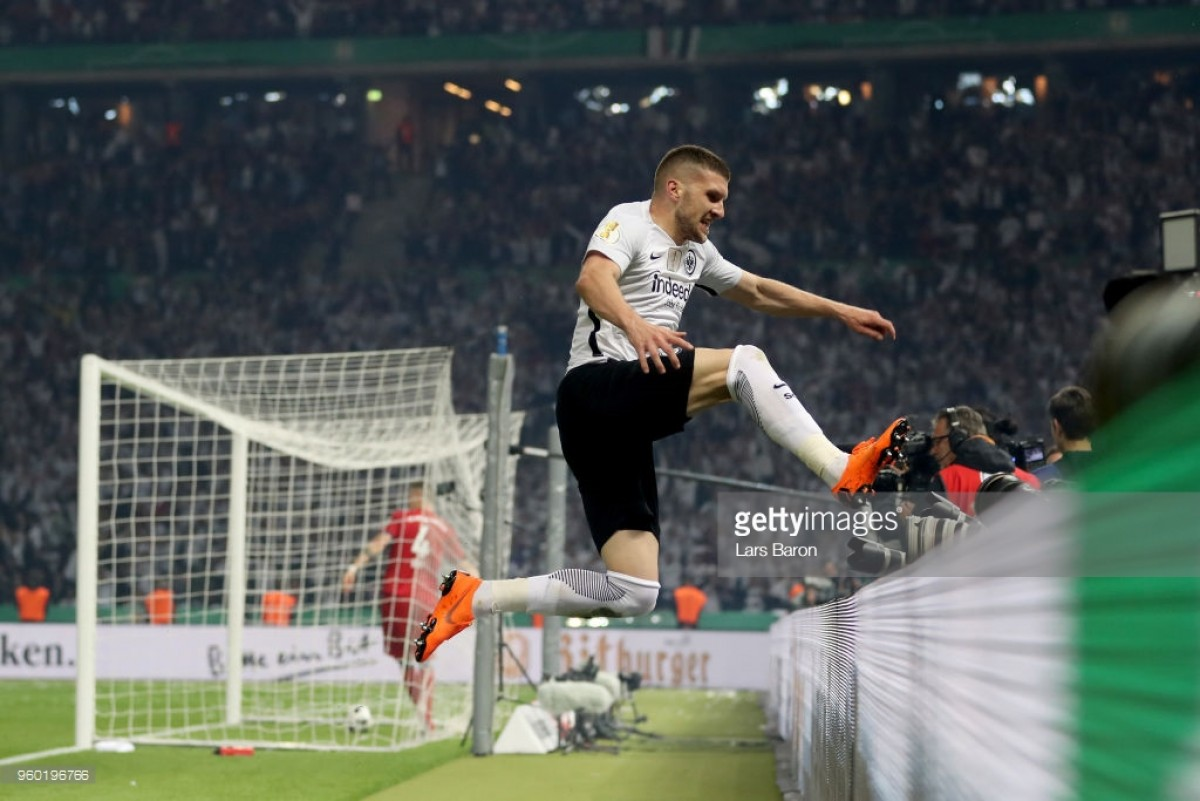 Bayern Munich 1-3 Eintracht Frankfurt: Ante Rebic the hero as Eagles earn shock Pokal win