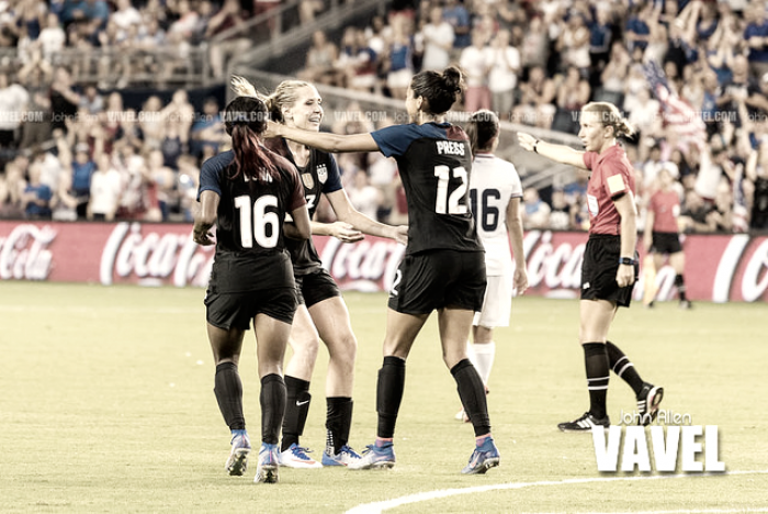 2017 Tournament of Nations: USWNT roster release
