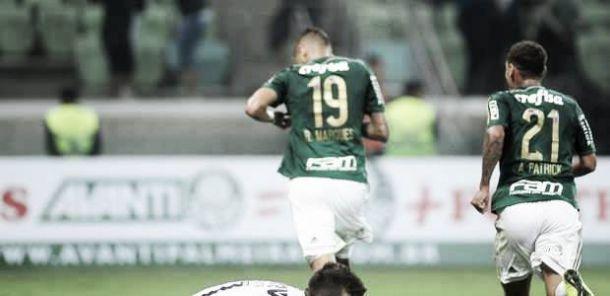 Rafael Marques marca no último minuto e Palmeiras empata com Atlético-MG na abertura do Brasileirão