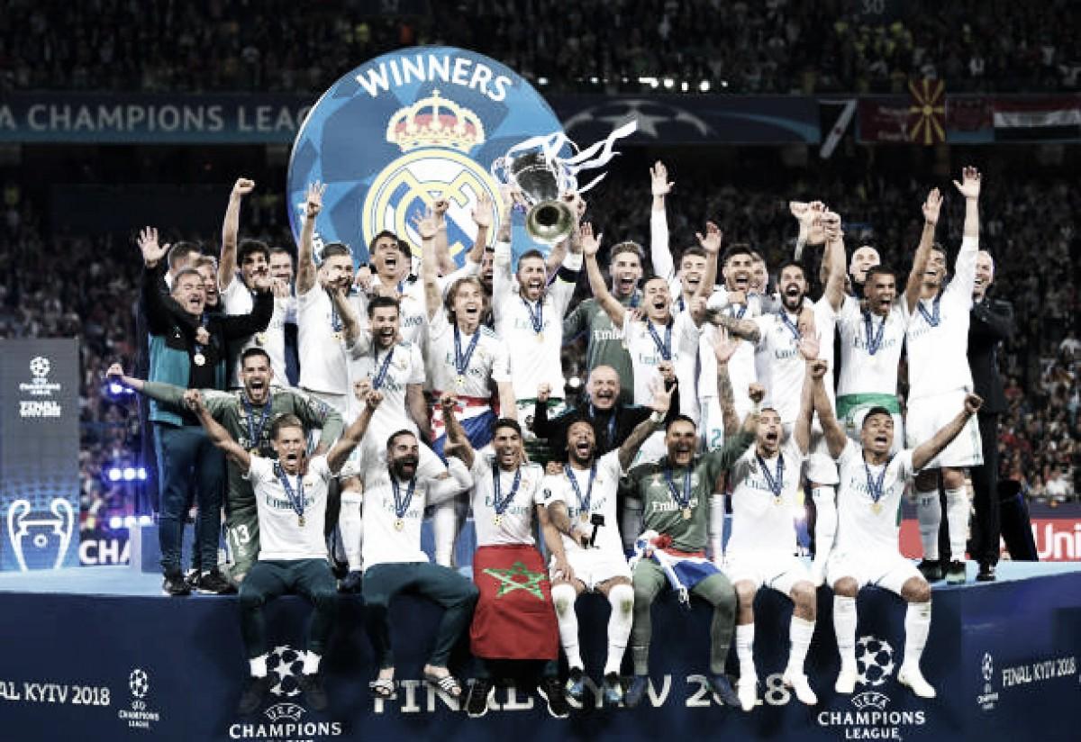 Madrid e nada mais! Gols de Bale e falhas de Karius garantem Real campeão europeu pela 13ª vez