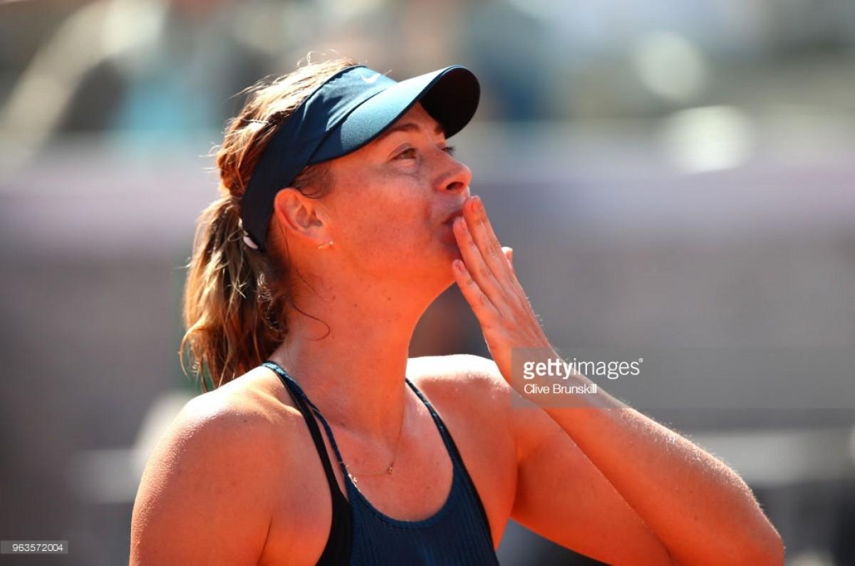 2018 French Open: Maria Sharapova survives scare against Richel Hogenkamp in three sets