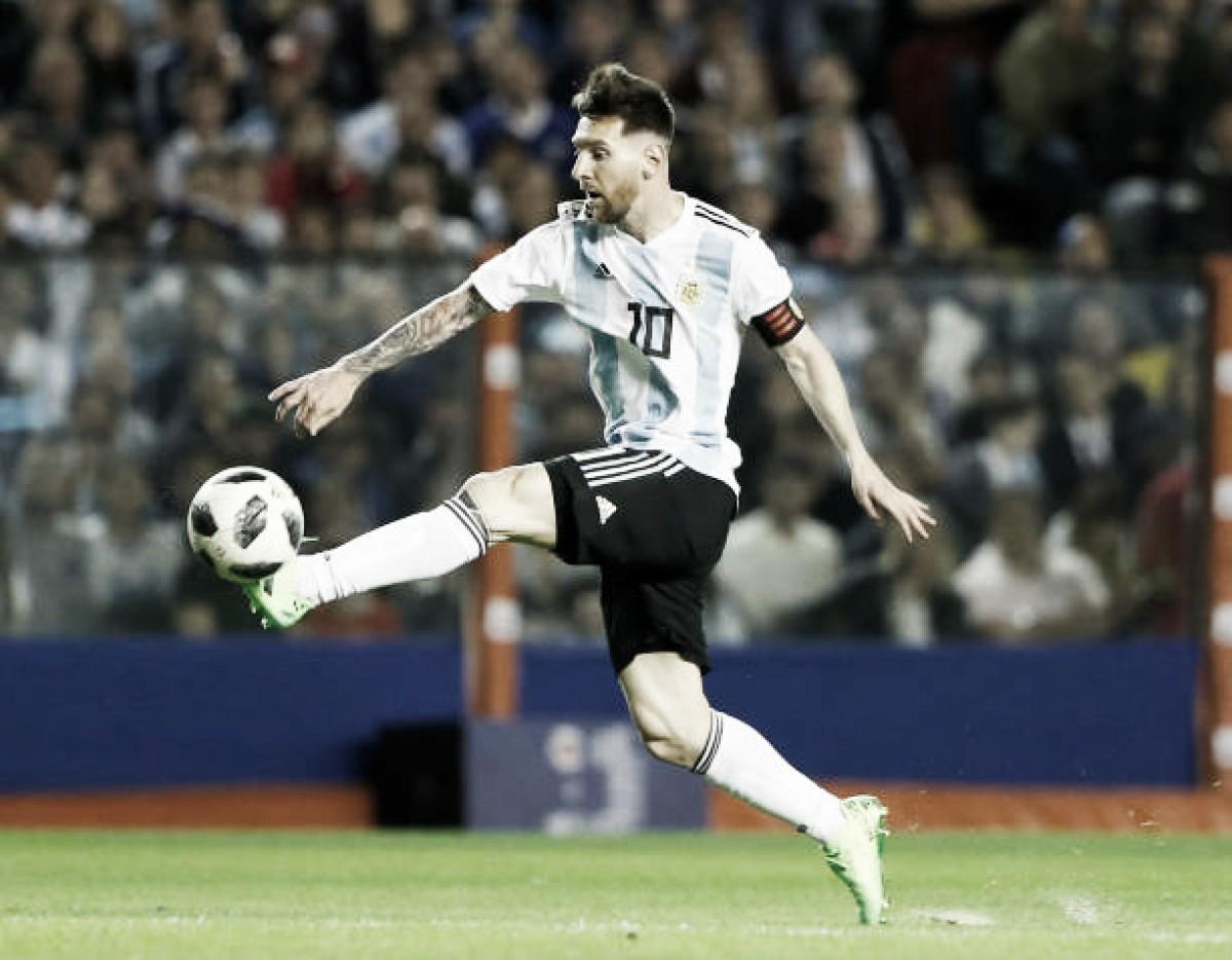 Show de Lionel Messi: triplete e excelente atuação marcam goleada da Argentina sobre Haiti