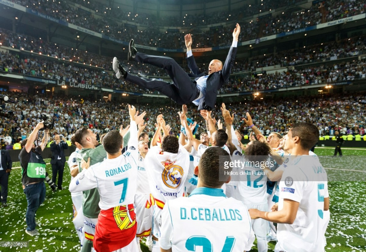 Zinedine Zidane steps down as Real Madrid manager after third consecutive Champions League success