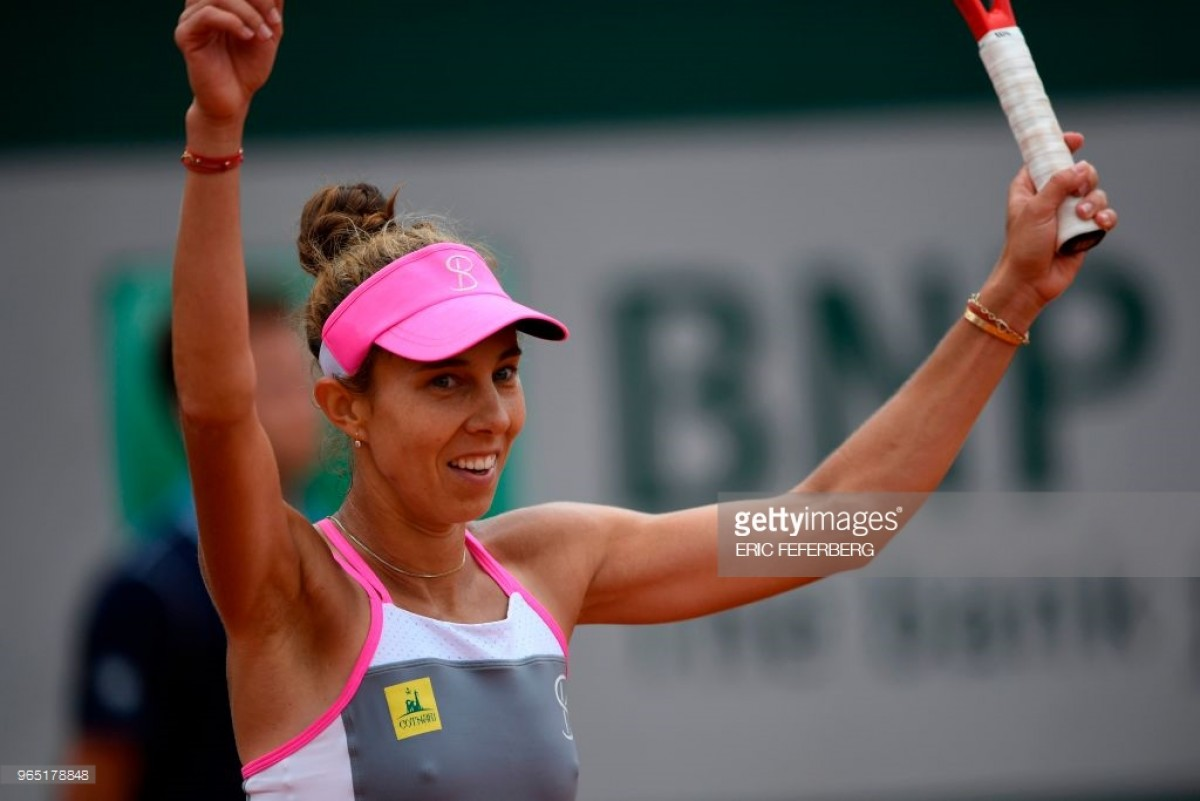 2018 French Open: Mihaela Buzarnescu stuns Elina Svitolina in straight sets