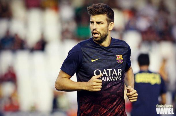 """Piqué: """"Estaría bien una final contra el Espanyol"""""""