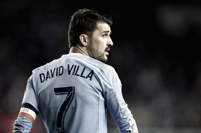 David Villa named Alcatel MLS Player of the Month for June