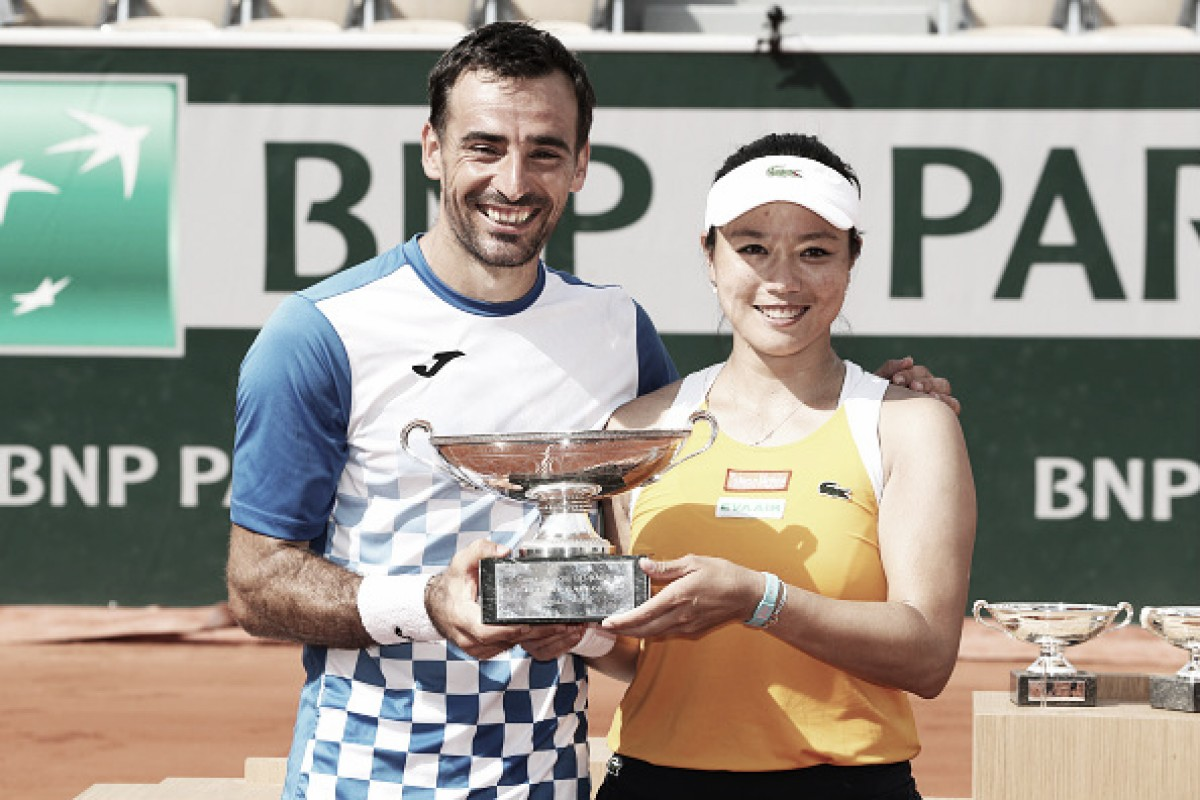 French Open: Chan/Dodig crowned champions with a three-set win over Dabrowski/Pavic