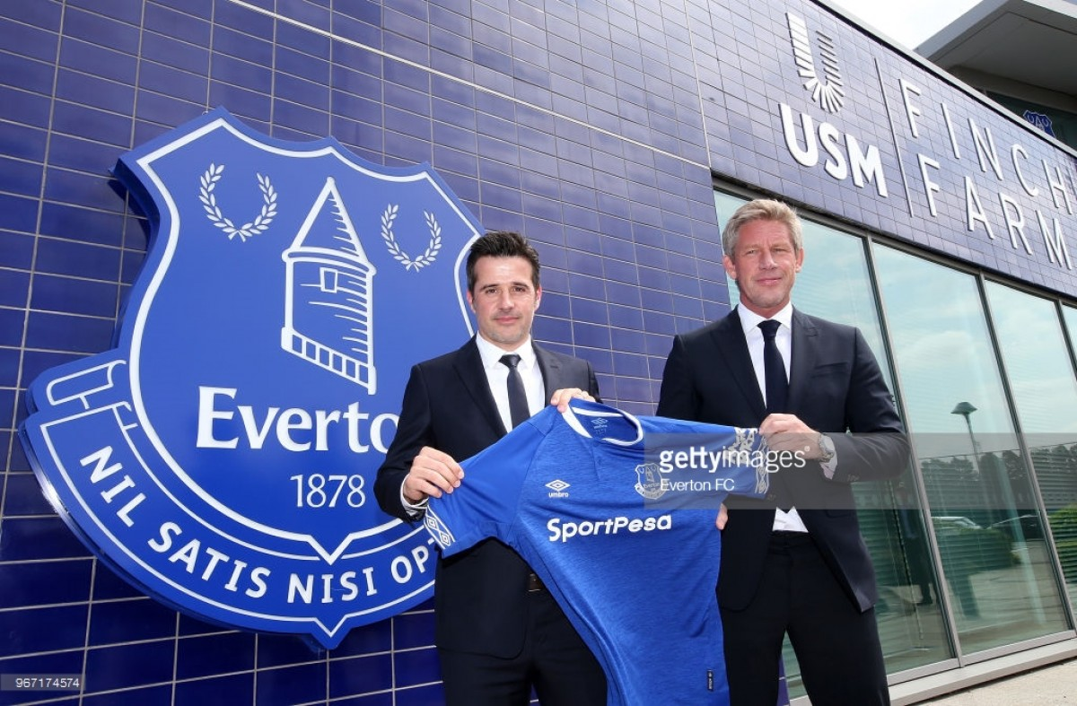 Marcel Brands and Marco Silva on: a possible Wayne Rooney exit and Everton's transfer plans