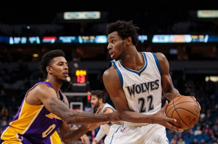 NBA - Wiggins ne firma 47 e Minnesota abbatte i Lakers (125-99)
