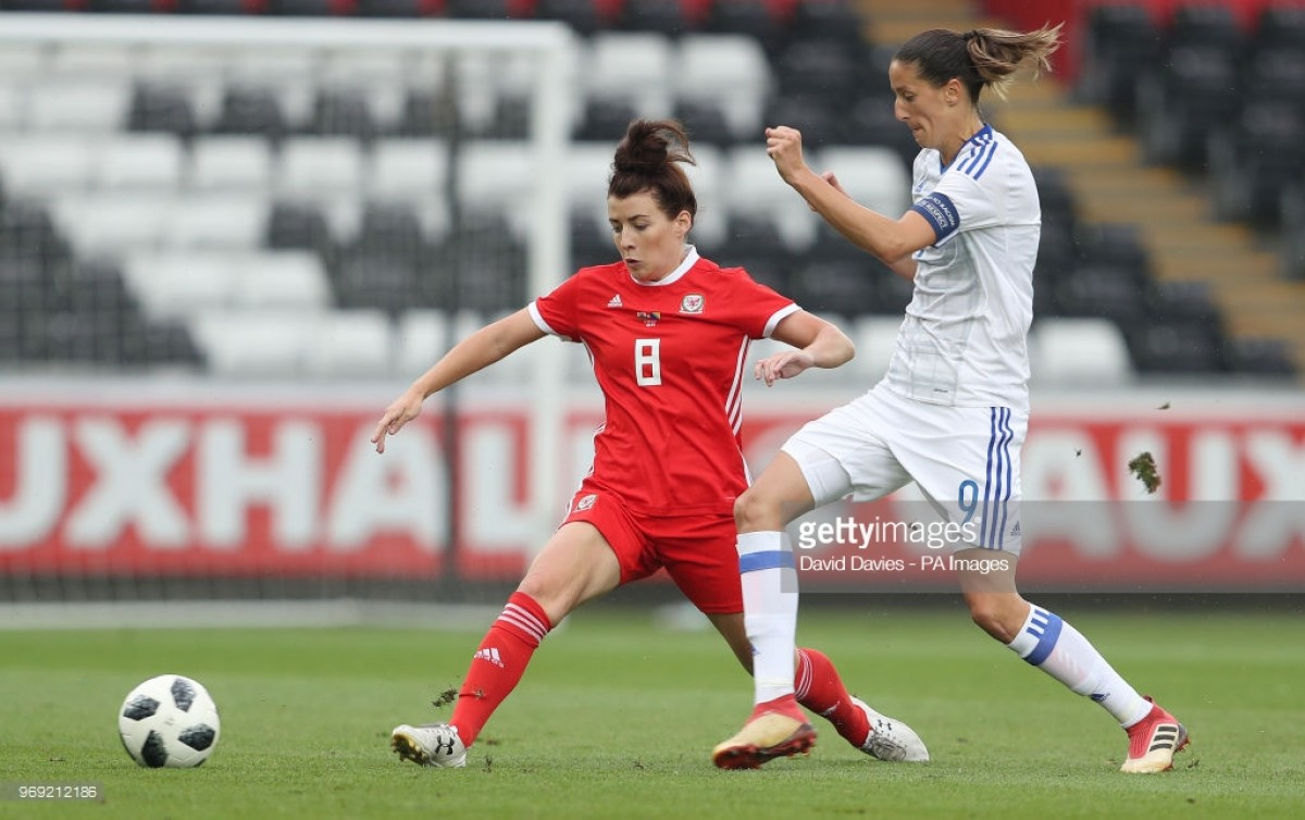 Women's World Cup qualifying: Wales 1-0 Bosnia and Herzegovina