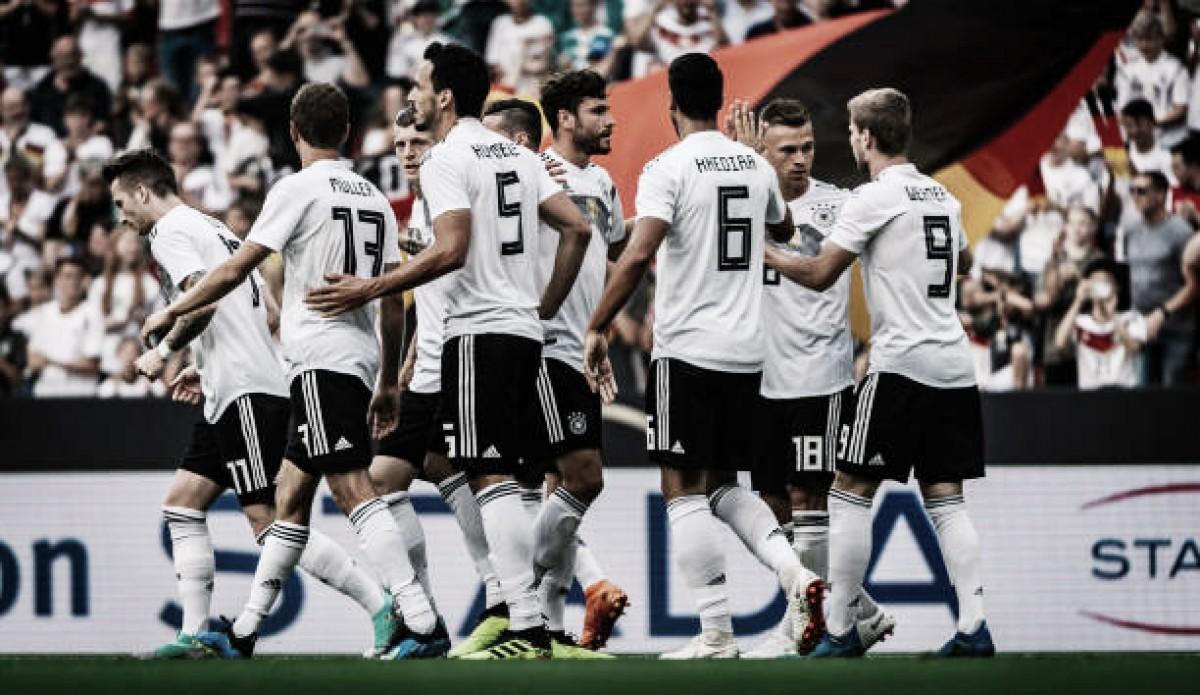 Alemanha supera Arábia Saudita, conquista primeira vitória em 2018 e encerra preparação para Copa