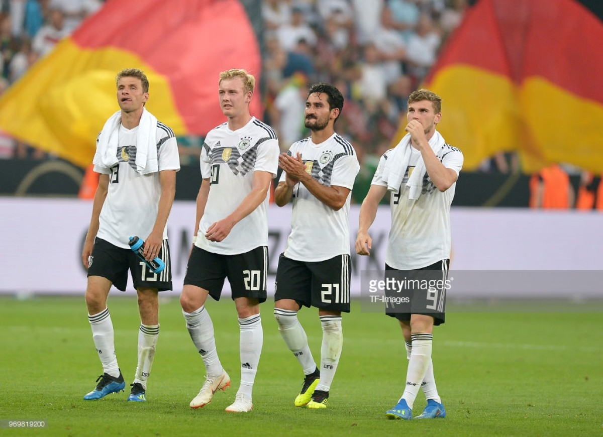 Germany 2-1 Saudi Arabia: A game of two halves for the Germans