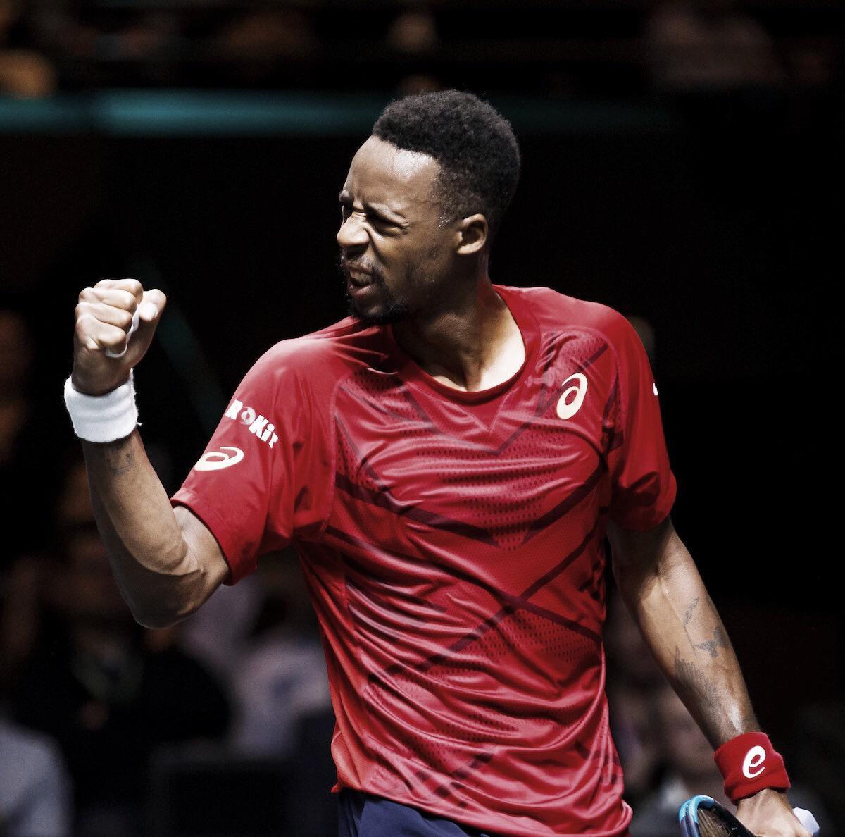 Monfils atropela Simon e se garante nas quartas de final do ATP 500 de Roterdã