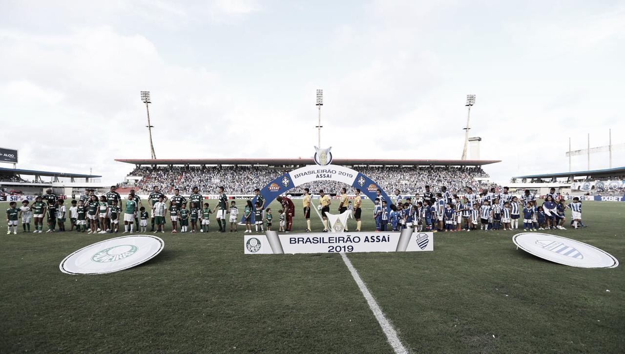 CSA e Palmeiras ficam no empate em jogo disputado no Rei Pelé