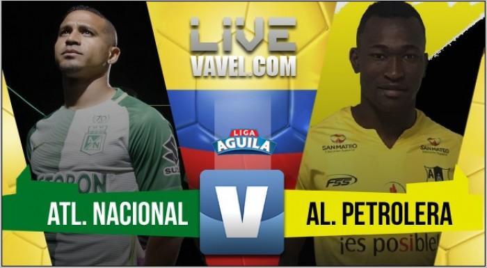 Atlético Nacional no tuvo piedad de Alianza Petrolera: le ganó 4-0