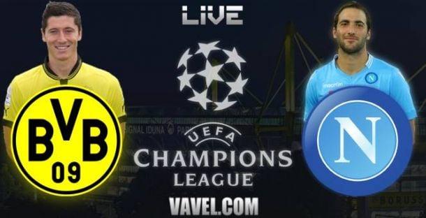 Live Borussia Dortmund - SSC Naples, le match en direct